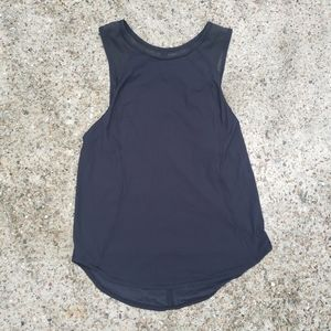 Lululemon Black Top Sleeveless Womens Size 4
